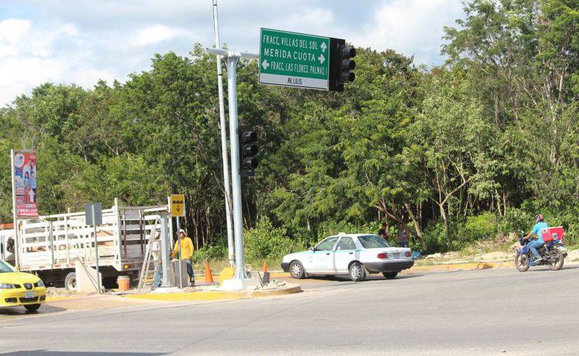 Aún no se define la inversión que harán en la instalación de semáforos. (Octavio Martínez/SIPSE)