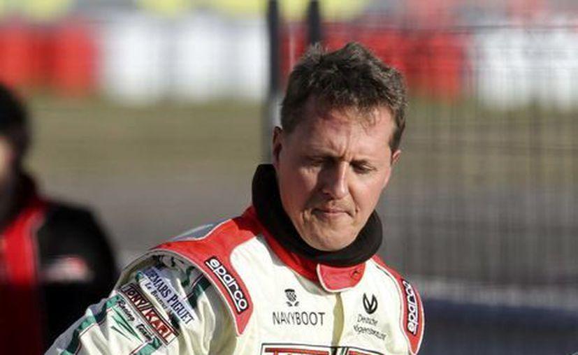 Schumacher dará la vuelta de exhibición a manera de agradecimiento por el apoyo recibido durante toda su carrera. (EFE)