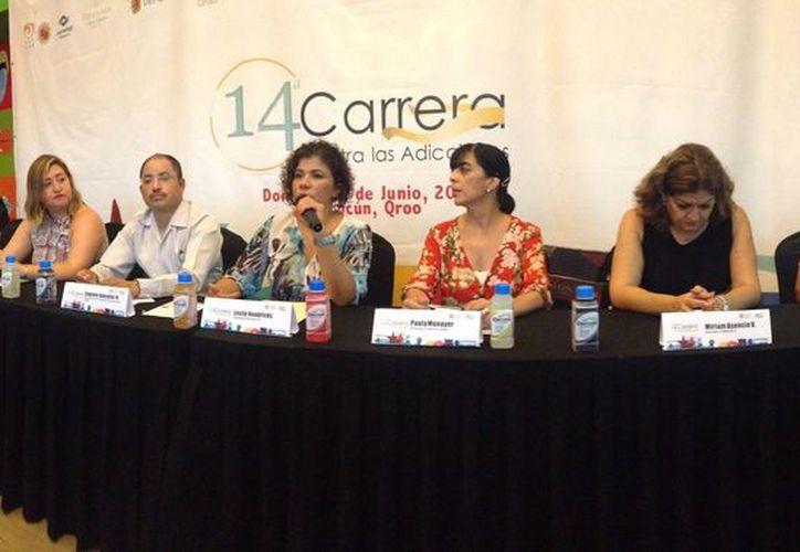 Presentan de forma oficial la décima cuarta edición de la carrera. (Raúl Caballero/SIPSE)