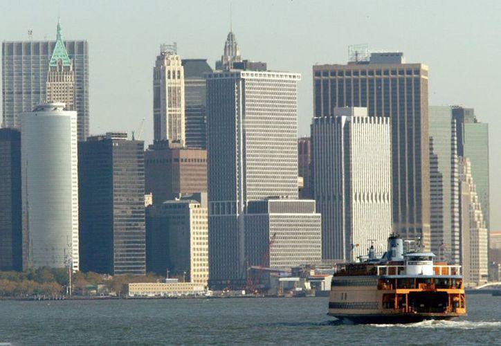 Los transbordadores realizan un tráfico constante en la región de Nueva York. (EFE)