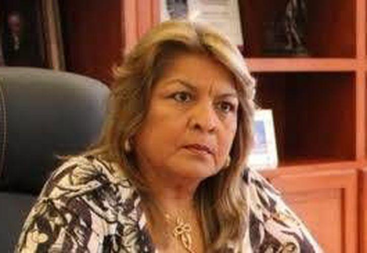La ex alcaldesa de Tulum, Edith Mendoza Pino, fue puesta el libertad bajo caución ayer por la noche.  (Archivo/SIPSE)