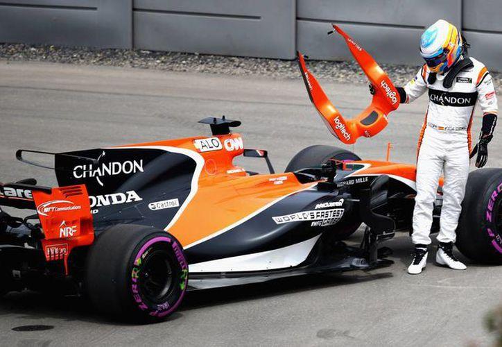 McLaren no ha podido figurar en la Fórmula Uno. (AFP)