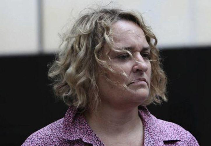 Fiona Barnett dijo que  fue prostituida a los cinco años de edad. (Louise Kennerley/theage.com.au)