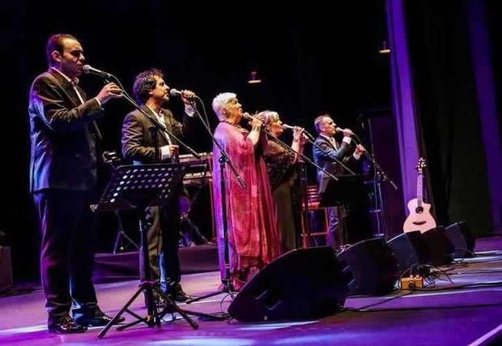 La agrupación realiza una gira por México y se presentará en Mérida el próximo 31 de octubre en el Club Libanés de Mérida. (Milenio Novedades)