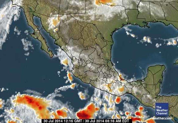 En la Península de Yucatán se mantendrá cielo medio nublado. (Foto/espanol.weather.com)