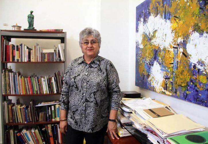 La escritora y maestra Beatriz Rodríguez Guillermo, directora de la Escuela Superior de Artes de Yucatán (ESAY),ha formado generaciones de estudiantes e impulsado proyectos culturales de impacto social. (Milenio Novedades)