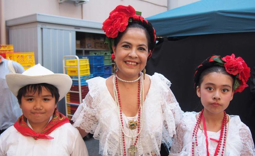 Durante el festival en la provincia japonesa de Aichi se pueden disfrutar danzas folklóricas mexicanas. (Fotos: Notimex)