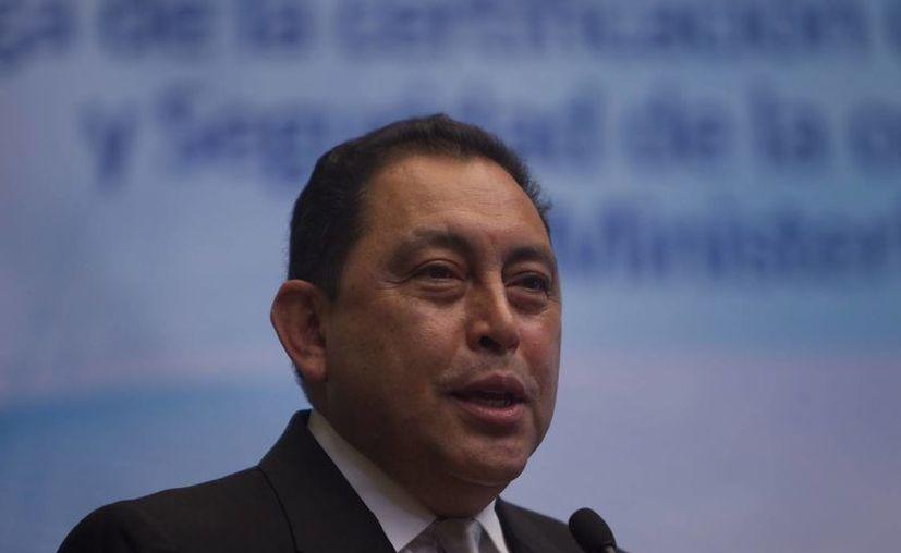 """El ministro del Interior, Mauricio López Bonilla, ha calificado como """"un importante golpe"""" a Los Zetas la captura de los dos mexicanos y la incautación del arsenal. (Archivo/EFE)"""