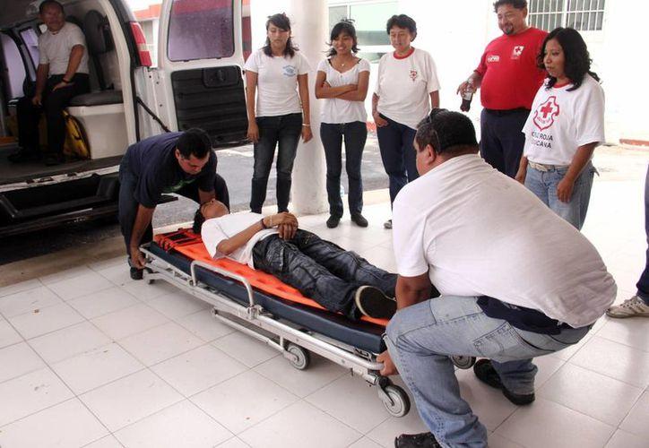 La Cruz Roja es un excelente espacio para hacerse voluntario. (Milenio Novedades)