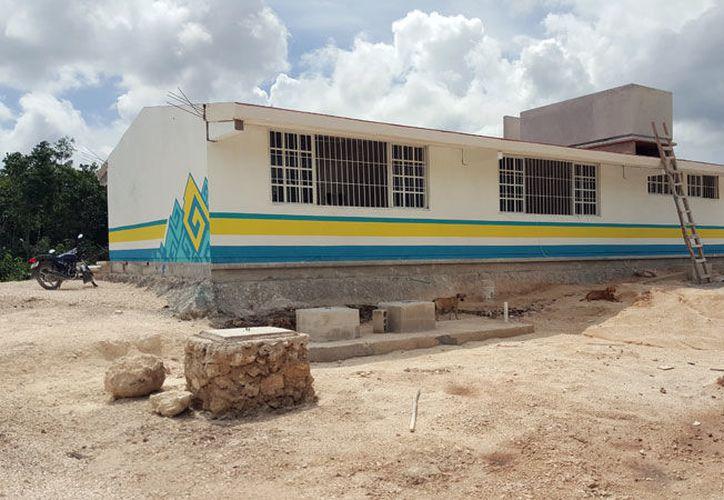 De las siete escuelas que se proyectaron para este año escolar, dos aún no se entregan oficialmente. (Contexto/SIPSE)