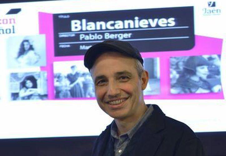 El director de Blancanieves Pablo Berger. (EFE)