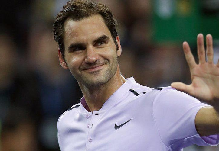 Federer ganó el título en 2017 después de recuperarse de problemas de lesiones. (Contexto)