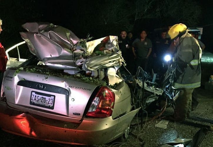 En lo que va de 2017, los accidentes de tránsito han dejado 42 muertos en Yucatán, según René Flores Ayora, auditor vial. La imagen está utilizada sólo con fines ilustrativos. (Milenio Novedades)