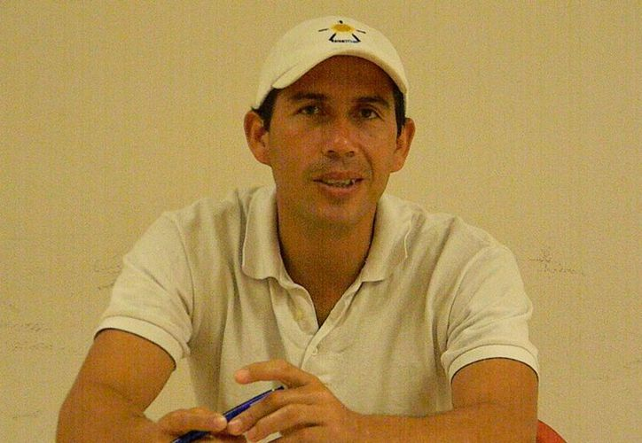 Miguel Ángel Muñoz señala que hay candidatos a medallas para Olimpiada Nacional. (Ángel Mazariego/SIPSE)