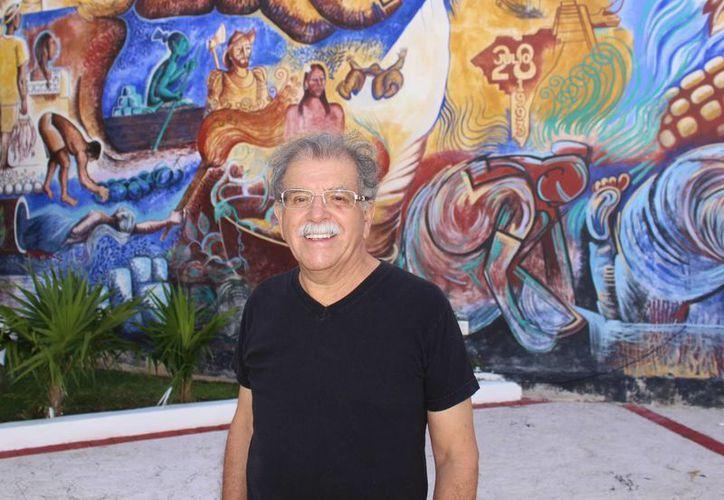 Ignacio Méndez Parra mejor conocido como Nacho Méndez, vive actualmente en en Playa del Carmen. (Luis Ballesteros/SIPSE)