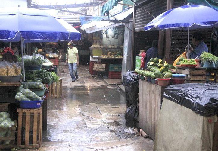La limpieza en los mercados es un tema pendiente cuya solución ayudaría a atraer más turistas a la zona de mercados, aseguran. (Milenio Novedades)