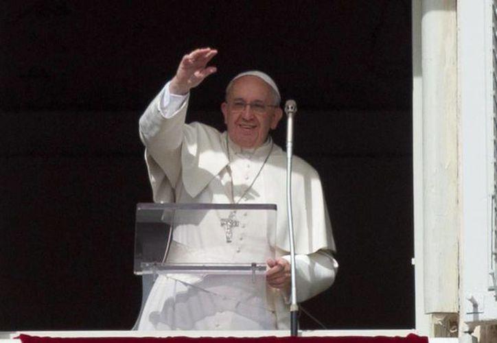 """La """"tentación crece, contagia y se justifica"""", subrayó Jorge Bergoglio. (EFE)"""