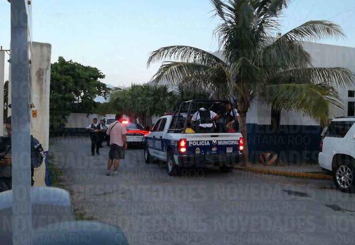 Los elementos de las diferentes corporaciones policíacas lograron detener a cinco sospechosos. (Redacción)