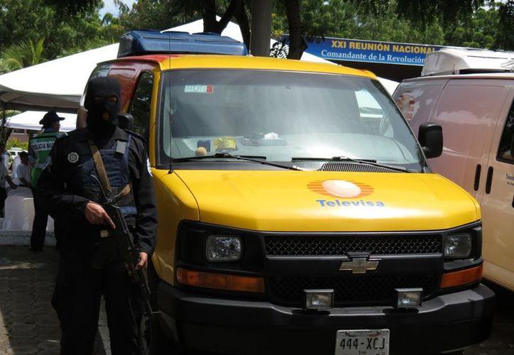 En la imagen, una de las camionetas de la empresa incautadas en Nicaragua. (Archivo/Agencias)