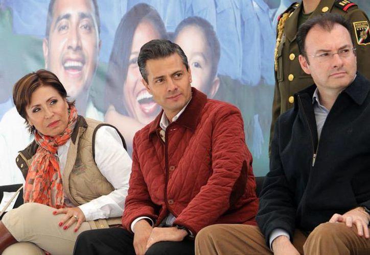 Peña Nieto comentó el retiro del PRD durante el anuncio del lanzamiento de un programa de apoyo a la zona fronteriza. (Presidencia)