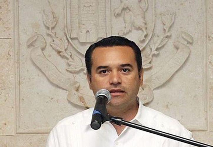 El alcalde de Mérida, Renán Barrera Concha. (Milenio Novedades)