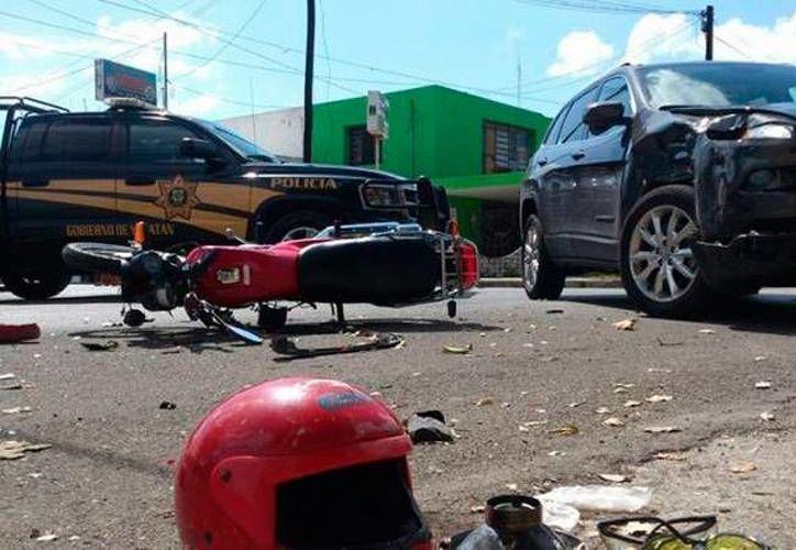 Según un integrante de un club de motociclistas, Mérida es una ciudad peligrosas para ellos, pero no por otros vehículos sino porque no tienen cultura vial. (Archivo)