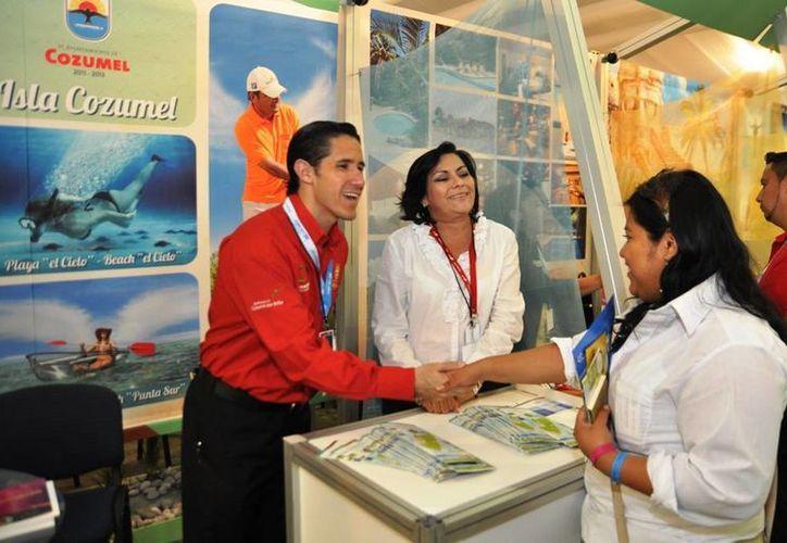 Espera que con la promoción aumente la presencia de turistas en la isla.  (Cortesía/SIPSE)