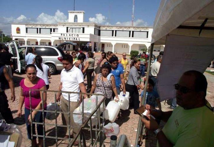 El Ayuntamiento de Solidaridad apoya los programas para cuidar el medio ambiente. (Redacción/SIPSE)