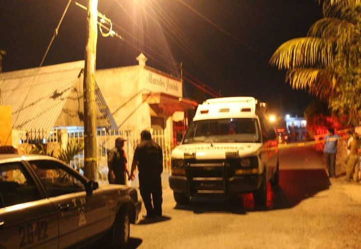 El crimen pasional ocurrió en Temozón. (SIPSE)