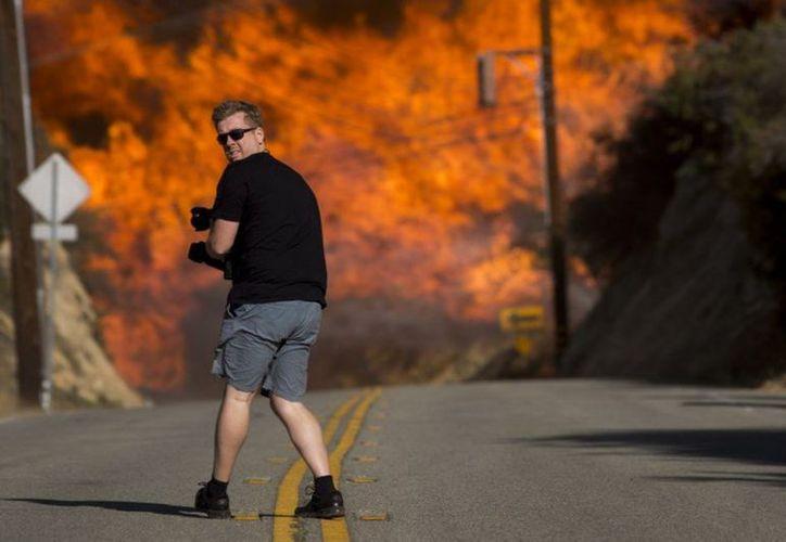 El incendio se registró en la zona conocida como El Paraíso. (vanguardia.com)