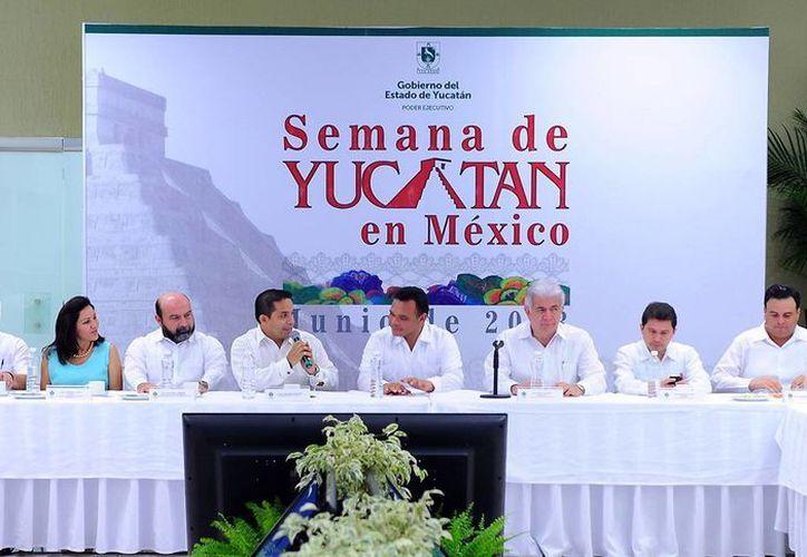 El Gobernador señaló la importancia de consolidar la promoción turística. (SIPSE)