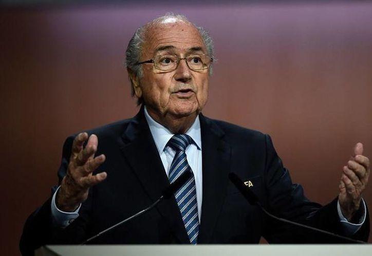 Joseph Blatter es presidente de la FIFA desde 1998, busca su cuarta reelección en las elecciones que se llevarán a cabo este Viernes. (FIFA.com)