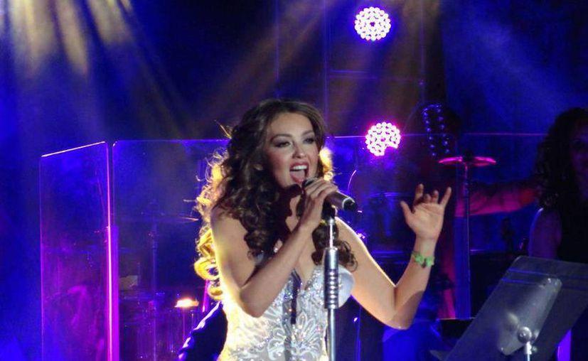 Thalía seguirá realizando su gira por las diferentes ciudades de Estados Unidos, en las próximas semanas.(Notimex)