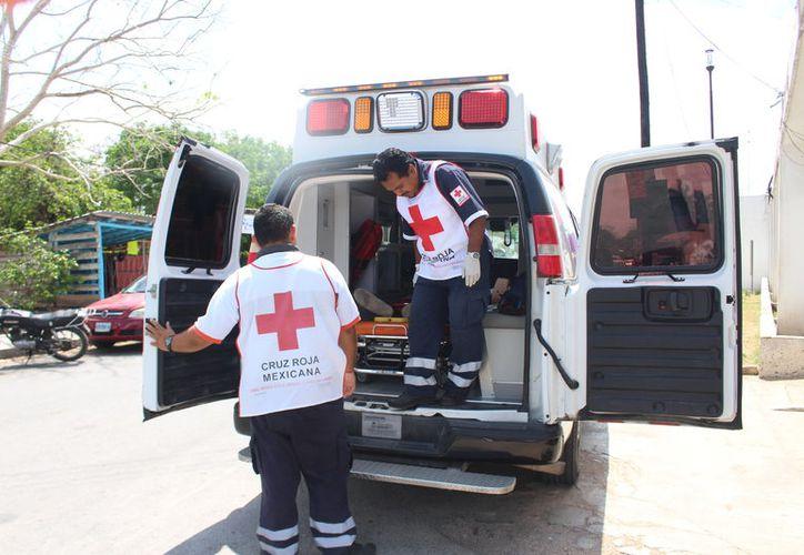 El recurso se aplica para la adquisición de papelería, pago de los sueldos de paramédicos, mantenimiento de las unidades, otros. (Jesús Caamal)