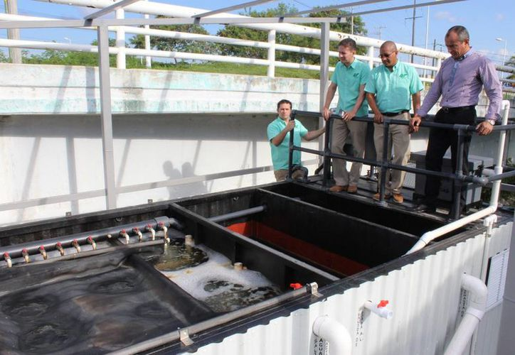 La planta contó con una inversión de 1.2 millones de pesos. (Cortesía)