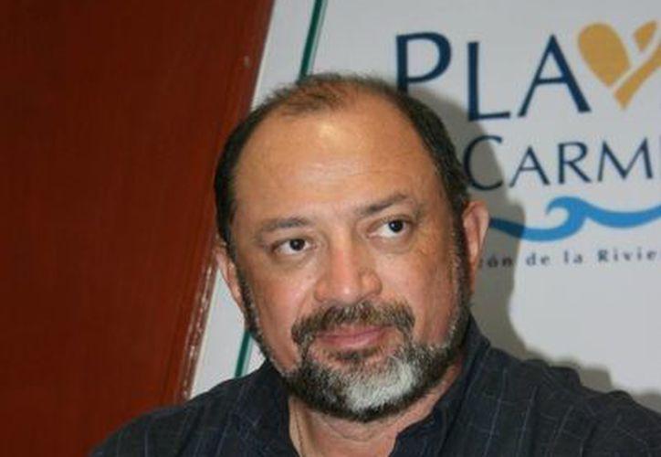 """Darío Flota Acampo dijo: """"Estamos en las negociaciones con ellos y todavía no podemos adelantar nada"""". (Adrián Barreto/SIPSE)"""