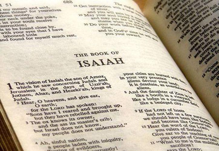 El oráculo conclusivo del libro segundo de Isaías: La Palabra de Dios es siempre eficaz, su fuerza fecundante es semejante a la de la lluvia, siempre anhelada por los agricultores. (wikipedia.org)