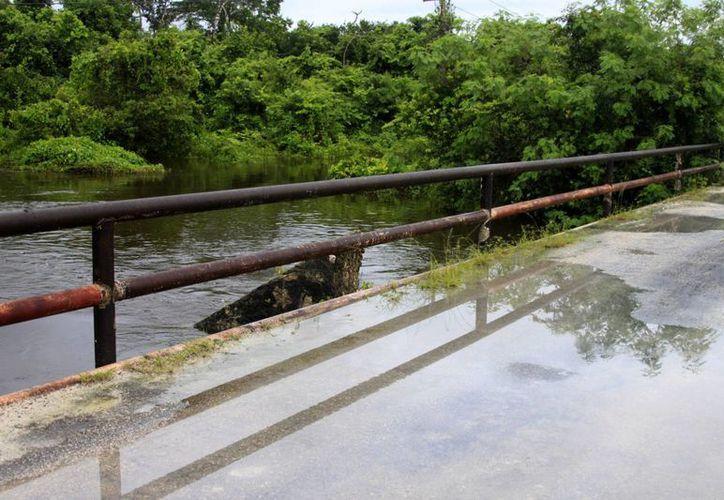 Nivel del Río Hondo permanece en seis metros con 80 centímetros. (Harold Alcocer/SIPSE)