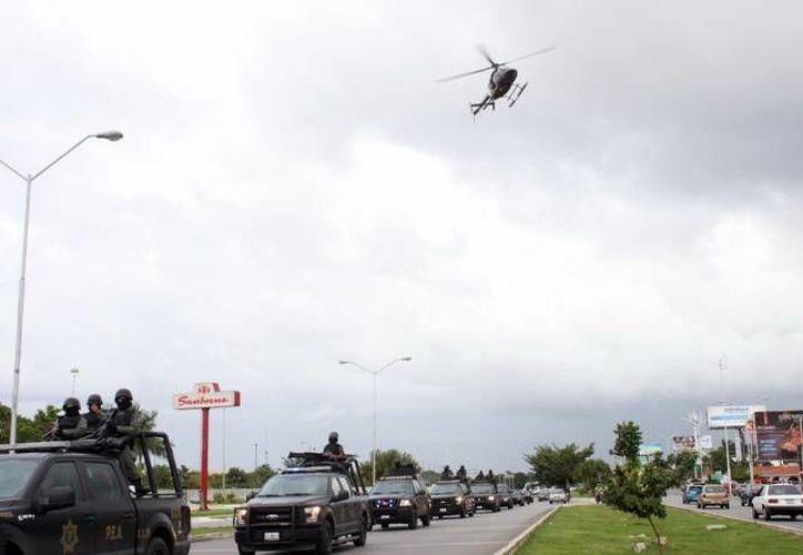 Para reforzar la seguridad en Yucatán, en el segundo semestre de 2016 iniciará la adquisición, instalación y armado de cámaras de vigilancia correspondientes al programa Escudo Yucatán. (Milenio Novedades/Foto de contexto)