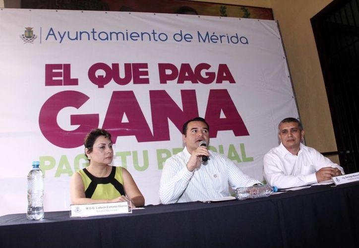 Las autoridades municipales detallaron el plan recaudatorio del predial de este año. (Milenio Novedades)