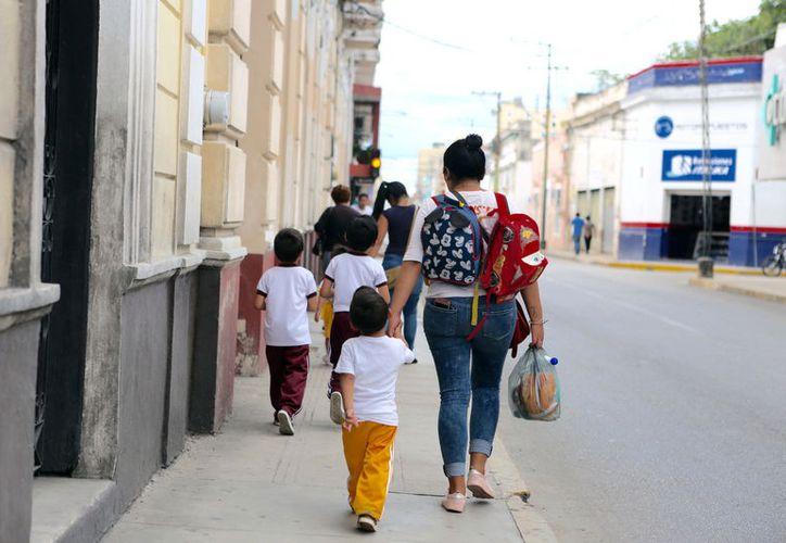 Recomendación a padres de familia para una mejor higiene de sus hijos.  (Foto: Milenio Novedades)