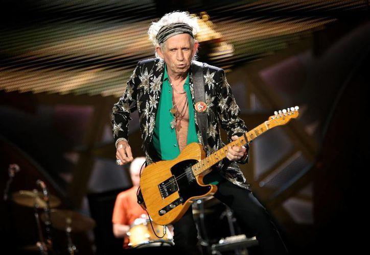 Keith Richards, integrante de Rolling Stones, volverá a publicar un material como solista después de no hacerlo en más de dos decadas. (AP)