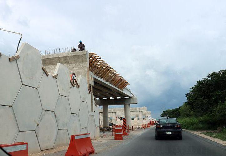 La Comey gestionó los recursos para el paso vehicular de la carretera Mérida-Motul. (SIPSE)