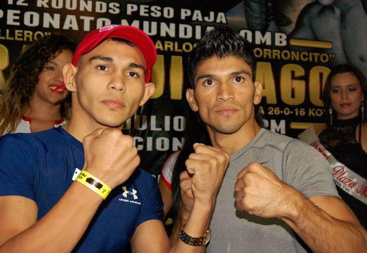 La pelea será este viernes en el Centro de Convenciones Yucatán Siglo XXI. (Wilberth Argüelles/SIPSE)