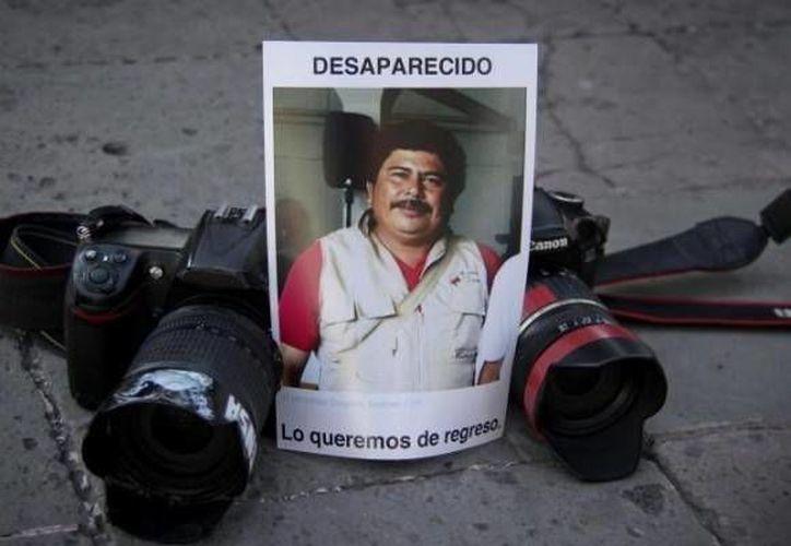 Gregorio Jiménez fue privado de su libertad en Coatzacoalcos el 5 de febrero pasado. (revoluciontrespuntocero.com)