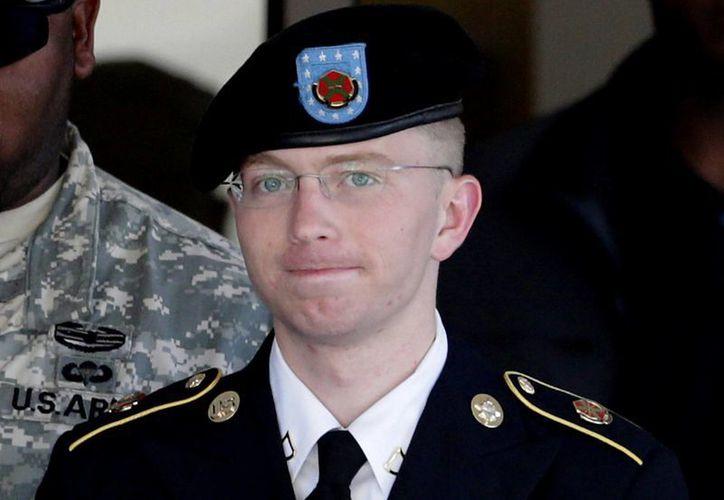 Bradley Manning asegura que nadie lo obligó a filtrar información. (Agencias/Archivo)