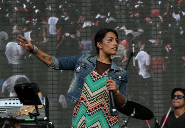 Ana Tijoux ha emergido como una de las voces más influyentes de la escena del hip hop latinoamericana. (Archivo Notimex)