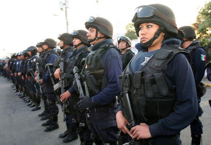 De acuerdo con Campa Cifrián,  la Gendarmería Nacional será una corporación distinta a la Policía Federal, la cual no desaparecerá.  Imagen de contexto. (Archivo/Notimex)