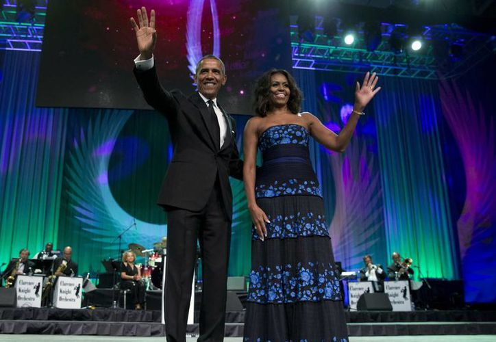 Los Obama formarán parte del Festival South by Southwest en Austin, Texas. Barack Obama será el primer presidente que participe en este evento.  (AP)