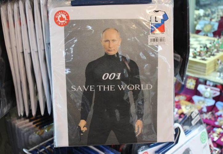 El presidente Vladimir Putin goza del 88 por ciento de aprobación entre los rusos. (Notimex)